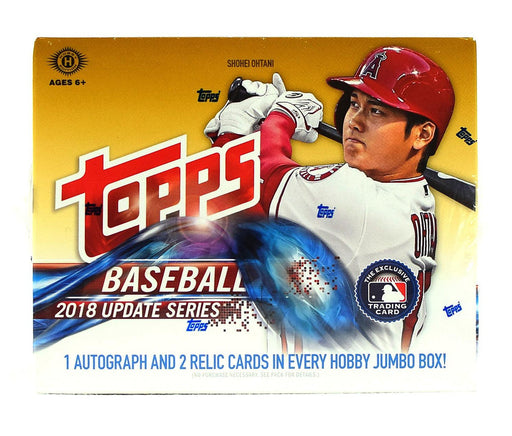 2018 Topps Update Series Baseball Jumbo Hobby - Pastime Sports & Games