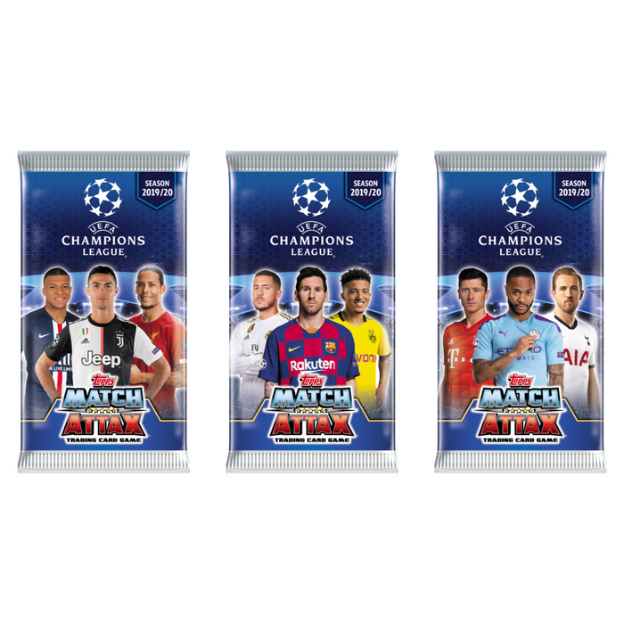 2019/20 Topps Match Attax Championship UEFA League Soccer Hobby - Pastime Sports & Games