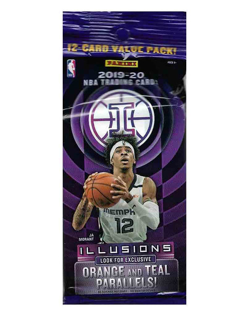 2019/20 Panini Illusions Basketball Hanger Cello Pack - Pastime Sports & Games