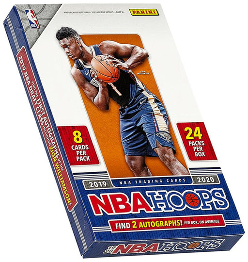 2019/20 Panini Hoops Basketball Hobby - Pastime Sports & Games