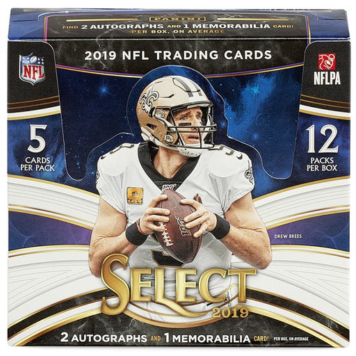 2019 Panini Select Football Hobby - Pastime Sports & Games