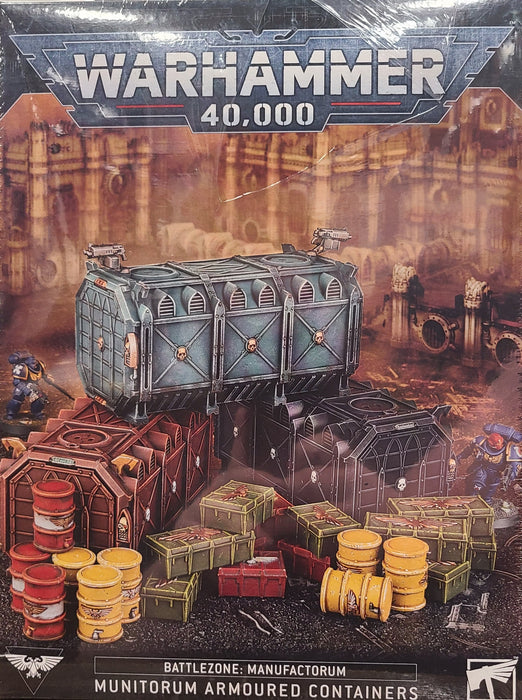 Warhammer 40,000 Munitorum Armoured Containers (64-98) - Pastime Sports & Games