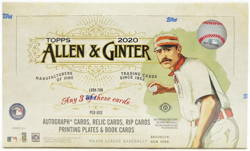 2020 Topps Allen & Ginter Baseball Sealed Box - Pastime Sports & Games
