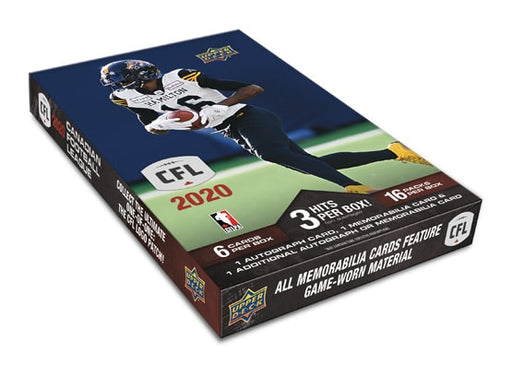 2020 Upper Deck CFL Football Hobby - Pastime Sports & Games