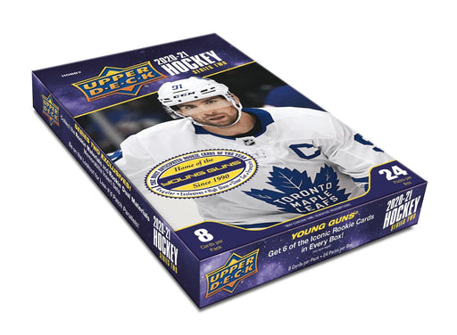 2020/21 Upper Deck Series Two Hockey Hobby PRE ORDER Max 6 per person - Pastime Sports & Games