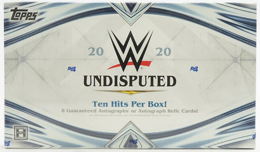 2020 Topps WWE Undisputed Hobby Box - Pastime Sports & Games