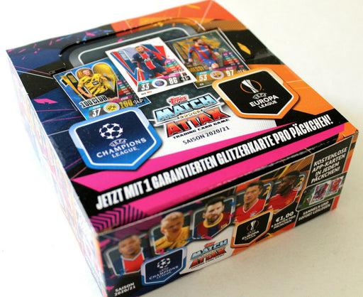 2020/21 Topps Match Attax Soccer Champions League UEFA Booster - Pastime Sports & Games