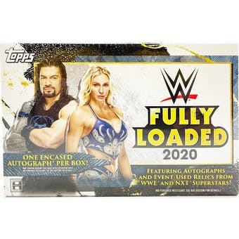 2020 WWE Topps Fully Loaded Hobby Box - Pastime Sports & Games