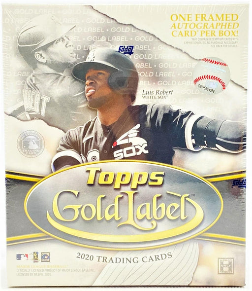 2020 Topps Gold Label Baseball Hobby - Pastime Sports & Games