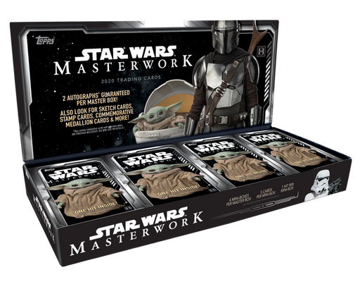 2020 Topps Star Wars Masterworks Hobby Box - Pastime Sports & Games