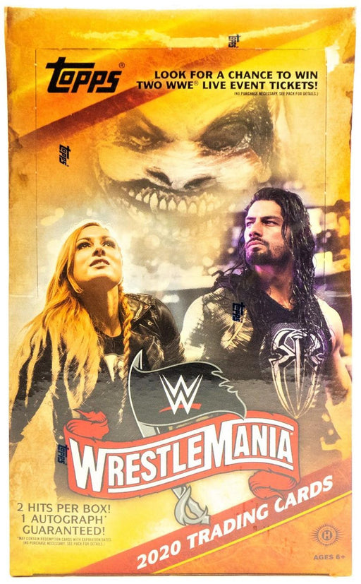 2020 Topps WWE Road to Wrestlemania Hobby - Pastime Sports & Games
