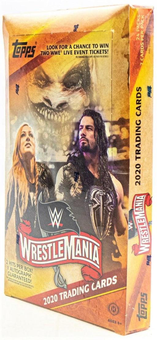2020 Topps Wrestlemania Road To Wrest Hobby - Pastime Sports & Games