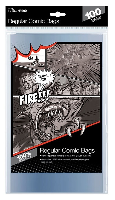 Ultra Pro Comic Book Bags - Pastime Sports & Games
