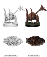 Dungeons & Dragons Nolzur's Marvelous Miniatures Rust Monster - Pastime Sports & Games