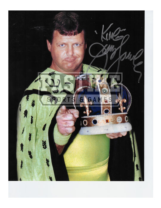 Jerry Lawler Autographed Wrestling Photo 8x10 - Pastime Sports & Games