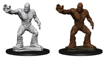 D&D Nolzur's Marvelous Miniatures Clay Golem (73843) - Pastime Sports & Games