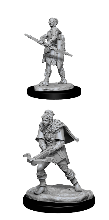 D&D Nolzur's Marvelous Miniatures Female Human Ranger (90010)