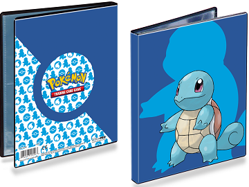 Ultra Pro 4-Pocket Pokemon Portfolio Squirtle - Pastime Sports & Games