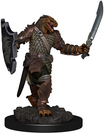 D&D Icons of the Realms Premium Miniatures Dragonborn Female Paladin (93006) - Pastime Sports & Games