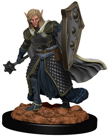 D&D Icons of the Realms Premium Miniatures Elf Male Cleric (93008) - Pastime Sports & Games