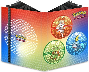 Ultra Pro 9-PKT Pro-Binder Pokemon Sword & Shield Galar Starters - Pastime Sports & Games