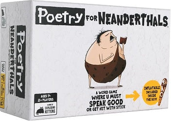 Poetry for Neanderthals - Pastime Sports & Games