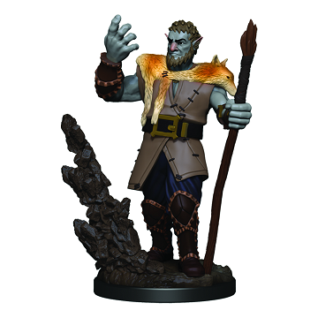 D&D Icons of the Realms Premium Miniatures Male Firbolg Druid - Pastime Sports & Games