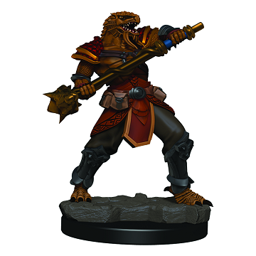 D&D Icons of the Realms Premium Miniature Male Dragonborn Fighter (93015) - Pastime Sports & Games