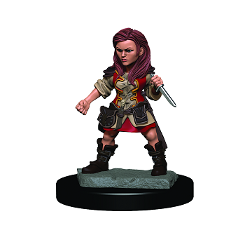 D&D Icons of the Realms Premium Miniature Female Halfling Rogue (93019) - Pastime Sports & Games