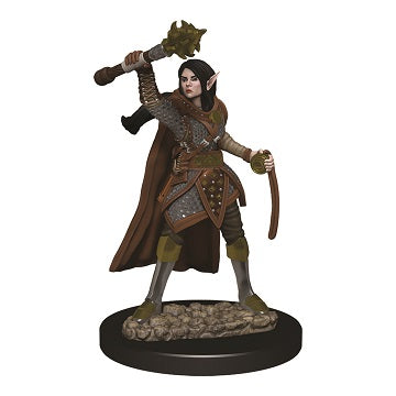 D&D Icons of the Realms Premium Miniature Female Elf Cleric (93021) - Pastime Sports & Games