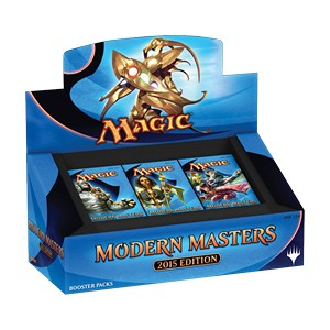 Magic The Gathering Modern Masters 2015 Repack Booster - Pastime Sports & Games