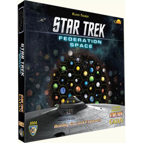 Star trek Catan Federation Space Expansion - Pastime Sports & Games
