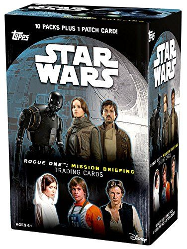 2016 Topps Star Wars Rogue One Mission Briefing Blaster Box