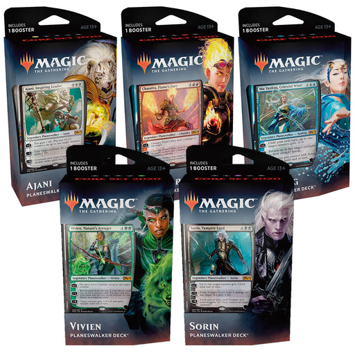 Magic the Gathering Core Set 2020 Planeswalker Deck - Pastime Sports & Games
