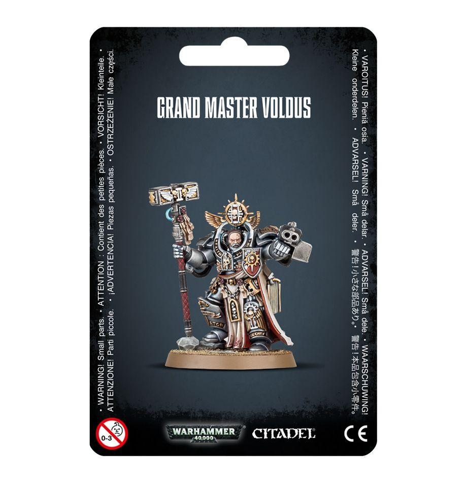 Warhammer 40,000 Grey Knights Grand Master Voldus (57-11)
