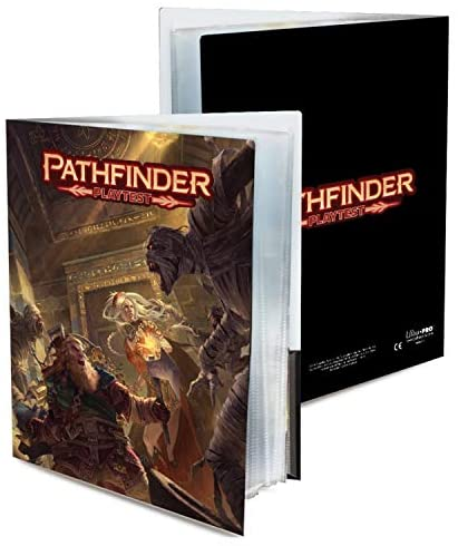 Ultra Pro Pathfinder Playtest Character Folio - Pastime Sports & Games