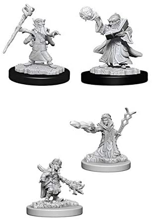 Dungeons & Dragons Nolzur's Marvelous Miniatures Gnome Wizard Wave 6