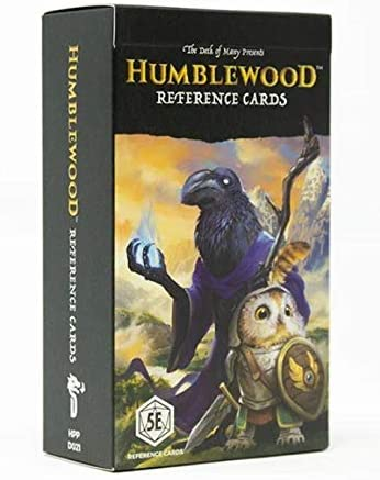 Humblewood Reference Cards - Pastime Sports & Games