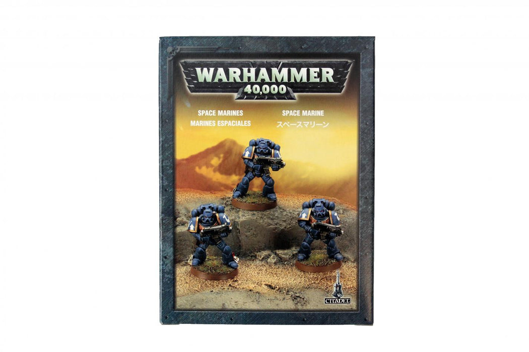 Warhammer 40,000 Space Marines (35-25) - Pastime Sports & Games