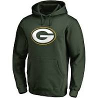 Green Bay Packers Football 3FAImprint Hoodie (Green 47) - Pastime Sports & Games