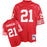 Deion Sanders San Francisco 49ers Football Jersey (M&N Red) - Pastime Sports & Games