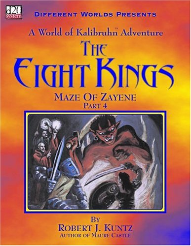 The Eight Kings: Maze Of Zayene Part 4 - Pastime Sports & Games