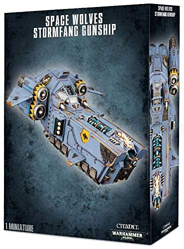 Warhammer 40,000 Space Wolves Stormfang Gunship (53-11) - Pastime Sports & Games