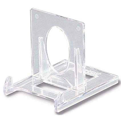 BCW 2 Piece Clear Card Stands - Pastime Sports & Games