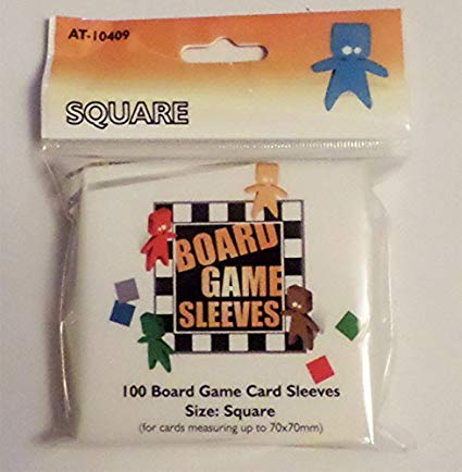 Arcane Tinmen: Square Board Game Sleeves (70 X70) - Pastime Sports & Games