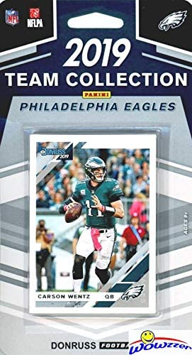 2019 Panini Donruss NFL Team Collection Philadelphia Eagles - Pastime Sports & Games