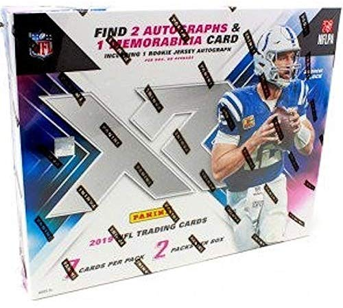 2019 Panini XR Football Hobby - Pastime Sports & Games