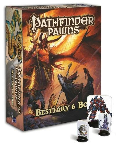 Pathfinder Pawns Beastiary 6 Box - Pastime Sports & Games