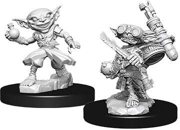 Battles Pathfinder Deep Cuts Unpainted Miniature Male Goblin Alchemist - Pastime Sports & Games