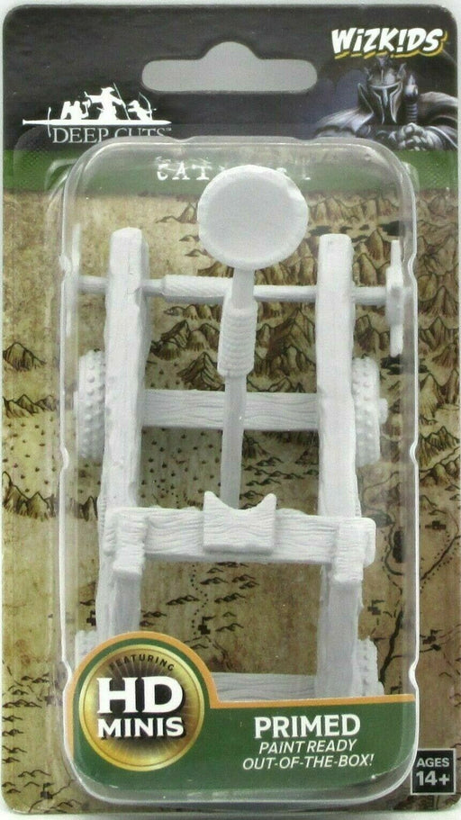 Wizkids Deep Cuts Miniatures Catapult (73731) - Pastime Sports & Games